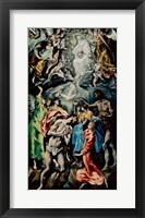 Framed Baptism of Christ