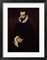 Framed Presumed Portrait of the Duke of Benavente