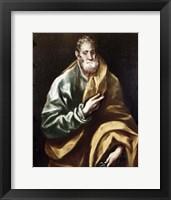 Framed Apostle Saint Peter, 1602-05