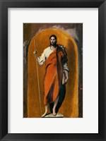 Framed Saint James, Apostle and Pilgrim