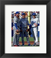 Framed Chicago Cubs All-Star Infield 2016 MLB All-Star Game