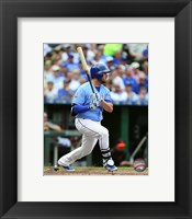 Framed Mike Moustakas 2016 Action