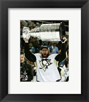 Framed Nick Bonino with the Stanley Cup Game 6 of the 2016 Stanley Cup Finals