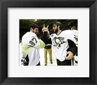 Framed Sidney Crosby & Kris Letang Game 6 of the 2016 Stanley Cup Finals