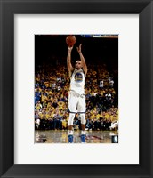 Framed Stephen Curry Game 1 of the 2016 NBA Finals