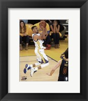 Framed Stephen Curry Game 2 of the 2016 NBA Finals