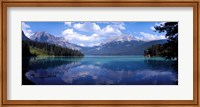 Framed Emerald Lake Reflections, Alberta, Canada