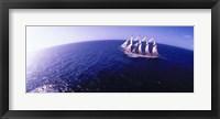 Framed Tall Ship at Sea, Puerto Rico