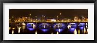 Framed Queen's Bridge, Belfast, Northern Ireland