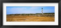 Framed Cape Hatteras Lighthouse, Outer Banks, North Carolina