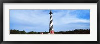 Framed Cape Hatteras Lighthouse, North Carolina