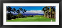 Framed Wailea Emerald Course, Maui, Hawaii