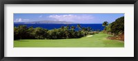 Framed Wailea Golf Club, Maui, Hawaii