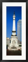 Framed Soldiers' and Sailors' Monument, Indianapolis, Indiana