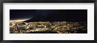Framed Cape Town at Night,  South Africa