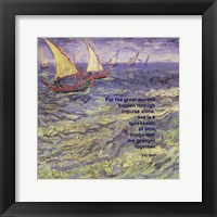 Framed For the Great - Van Gogh Quote 1