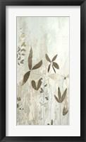 Fresco Field I - Metallic Foil Framed Print