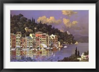 Framed Portofino Sunlight