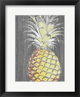 Framed Vibrant Pineapple Splendor II