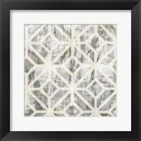 Neutral Metric III Framed Print