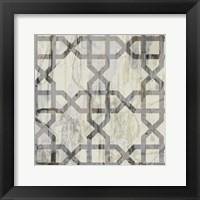 Neutral Metric V Framed Print