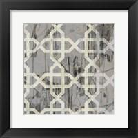 Neutral Metric VI Framed Print
