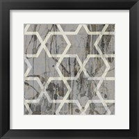 Neutral Metric VII Framed Print