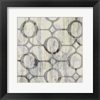 Neutral Metric IX Framed Print