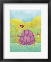Framed Happy Turtle II