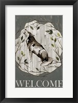Framed Woodland Welcome II