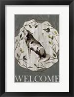 Woodland Welcome II Framed Print
