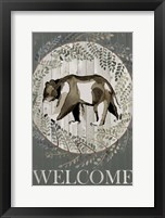 Woodland Welcome III Framed Print