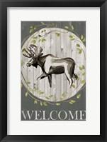 Woodland Welcome IV Framed Print