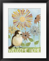 Framed Spring Welcome II
