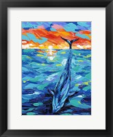 Ocean Friends II Framed Print