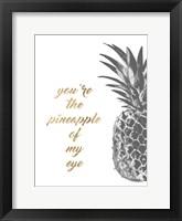 Pineapple Life III Framed Print