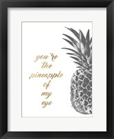Pineapple Life III Framed Print