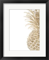 Pineapple Life IV Framed Print