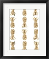 Pineapple Life VI Framed Print