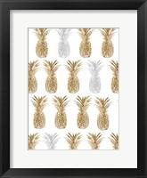 Pineapple Life VII Framed Print