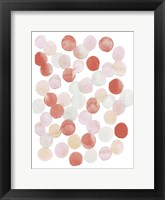 Candy Pattern I Framed Print