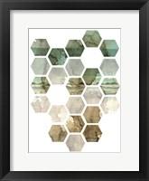 Framed Hexocollage I