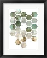Framed Hexocollage II