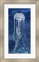 Framed Indigo Nettle I