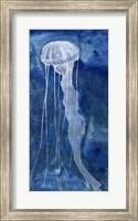 Framed Indigo Nettle II