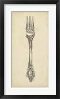 Framed Ornate Cutlery I
