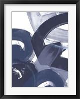 Blue on Blue II Framed Print