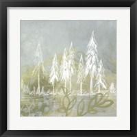 Treeline Collage II Framed Print