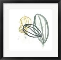 Abstract Sea Fan I Framed Print