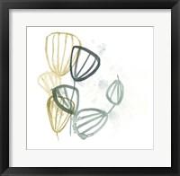 Abstract Sea Fan II Framed Print